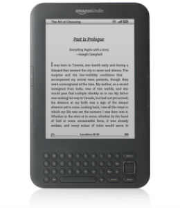 Kindle 3 WiFi + 3G oplader